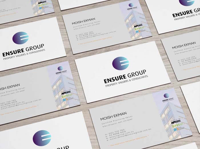 D-RA Creative Agency - business card design